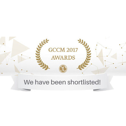 We are proud to announce that we have been shortlisted for GCCM 2017, Berlin