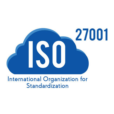 ISO 27001 : 2013 Certified for ISMS(Data security)